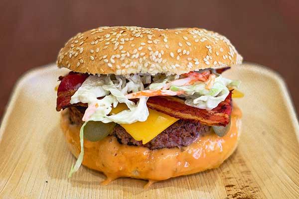 Bagel Nation Bagel Burger